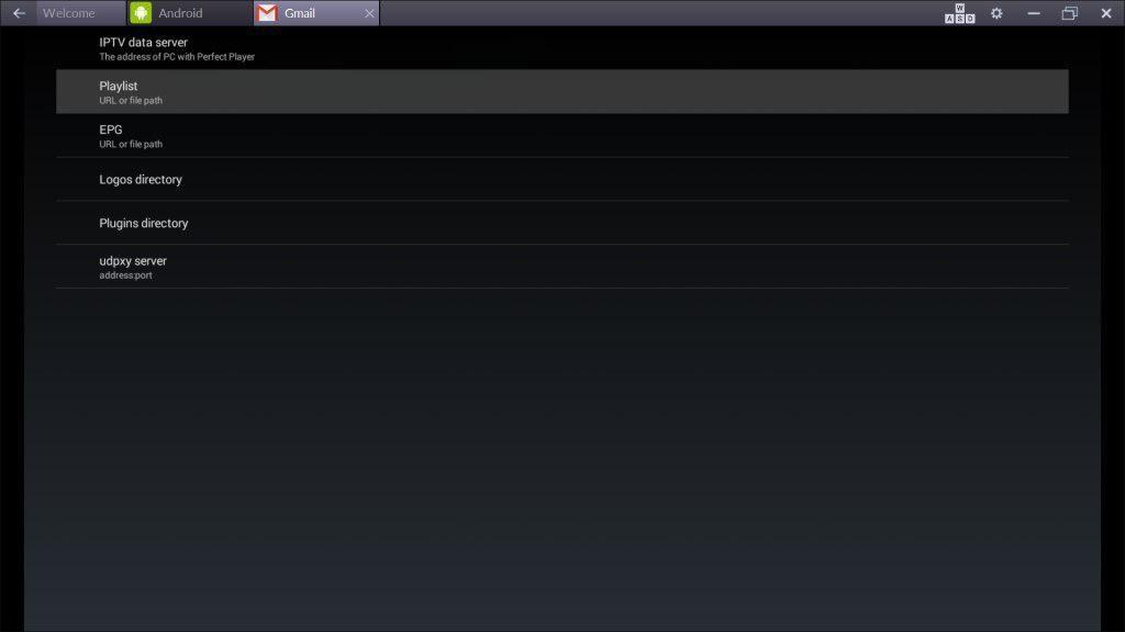 Installera Perfect Player på din Android enhet
