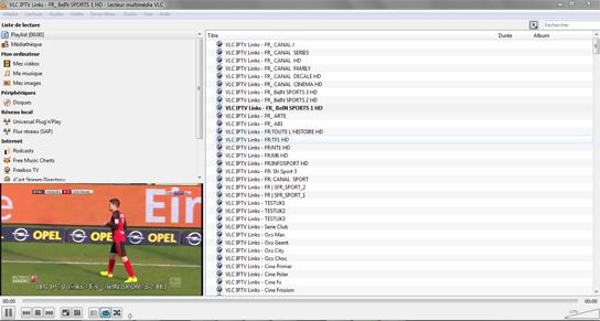 Få in kanalerna på VLC - Kanallistan